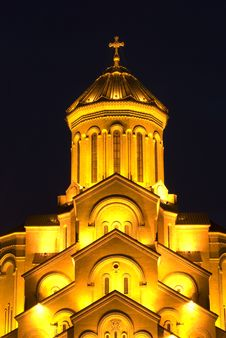 Free The Tbilisi Holy Trinity Cathedral Stock Photography - 18295432