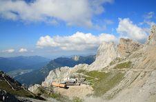Free Karwendel Mountain In Alps Royalty Free Stock Images - 18295869