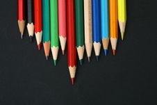 Free Pencil Background Stock Photo - 18296460