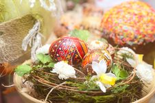 Free Traditional Russian Easter Background Stock Photo - 18296560