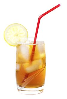 Free Ice Lemon Tea Stock Photo - 18296870