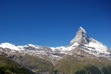 Free Matterhorn Royalty Free Stock Photography - 18297107
