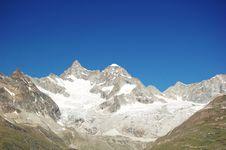 Free Ober Gabelhorn Royalty Free Stock Photography - 18297167