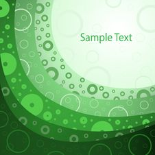 Free Green Abstract Background Royalty Free Stock Photo - 18297985