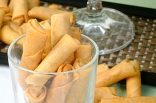 Chinese Spring Rolls Royalty Free Stock Images