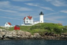 Free Cape Neddick Nubble Stock Photo - 18298860