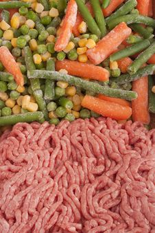 Free Chopped Meat Royalty Free Stock Images - 18299009