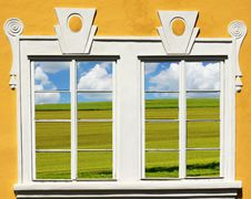 Free View From Windows Royalty Free Stock Photo - 18299135