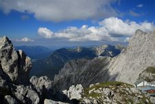 Free Karwendel Mountain In Alps Royalty Free Stock Image - 18299406