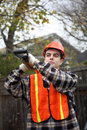 Free Worker With Shovel Stock Photos - 1838473