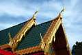 Free Roof Line Of Buddhist Monastary Royalty Free Stock Photos - 1839488