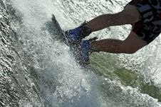 Wakeboard Splash Stock Photos
