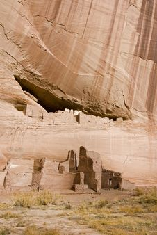 Canyon De Chelly White House Royalty Free Stock Photography