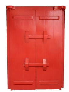 Free Heavy Red Door Stock Images - 1831794