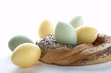 Free Easter Bagel Stock Images - 1832764