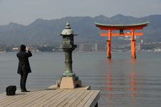 Free Floating Torii Gate Stock Images - 1833674