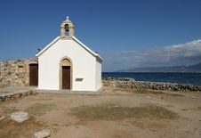 Free Chapel In Greece Stock Images - 1834004