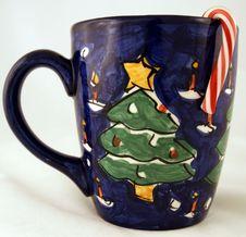 Free Christmas Mug Royalty Free Stock Image - 1835606