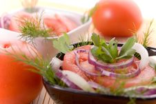 Free Tomato Salad Stock Image - 1835611