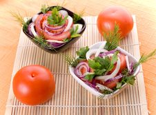 Free Tomato Salad Royalty Free Stock Image - 1835616