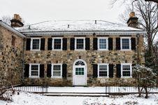 Free Stone Mansion Royalty Free Stock Image - 1835906