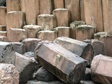 Giant Stones, Steps Royalty Free Stock Photography