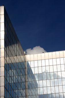 Free Glass Office Building Stock Image - 1837341