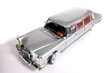 Mercedes Benz 600 Metal Scale Toy Car Wideangel Stock Image