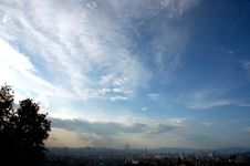 Free Evening View Kuala Lumpur City 4 Royalty Free Stock Photo - 1837965
