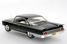 1960 Ford Starliner Metal Scale Toy Car 2 Royalty Free Stock Image