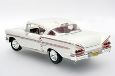 Free 1958 Chevrolet Impala Metal Scale Toy Car 2 Royalty Free Stock Images - 1837989
