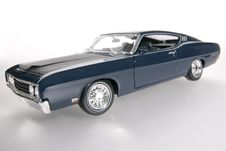 Free 1969 Ford Torino Talladega Metal Scale Toy Car Wideangel Royalty Free Stock Image - 1838066
