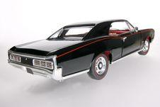 Free 1966 Pontiac GTO Metal Scale Toy Car Wideangel Stock Photos - 1838083