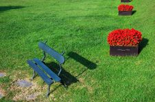 Free Park Bench Royalty Free Stock Images - 1839519