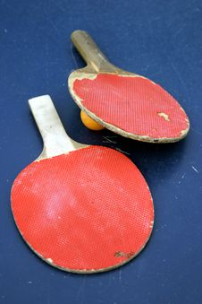 Free Old Rackets Royalty Free Stock Photos - 1839618
