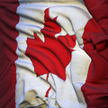 Free Flag Of Canada, Fluttering Stock Images - 18300544