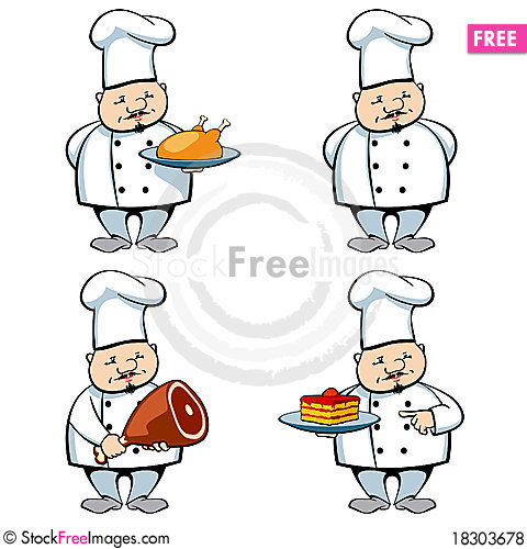 Free Cook And Food Royalty Free Stock Photos - 18303678