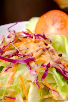 Free Salad Royalty Free Stock Photos - 18300168