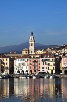 The Port Of Imperia,Italy Stock Photography