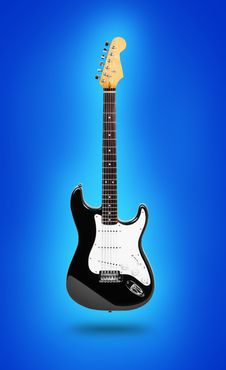 Free Image Of Electric Guitar Stock Photography - 18300712