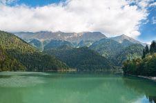 Free Lake Ritsa. Abkhazia. Stock Image - 18300811