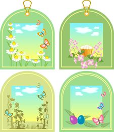 Free Easter Tags Stock Photography - 18300832