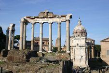 Free Imperial Forums In Rome Stock Photo - 18301080
