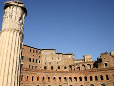 Free Ancient Markets Of Trajan In Rome Stock Photo - 18301140