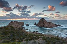 Free Sugarloaf Rock On Cape Naturaliste Royalty Free Stock Photos - 18301178