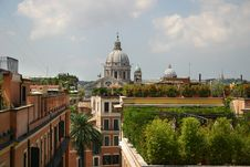 Free Roofs Of Rome Stock Photography - 18301262