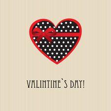 Free Vintage Valentine`s Card Stock Photo - 18301290