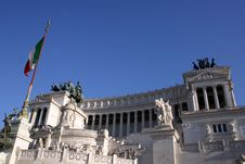 Italian Monument Stock Photography