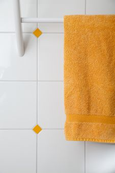 Towel Holder Royalty Free Stock Photo