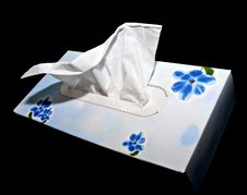 Free White Hygienic Handkerchief Stock Photos - 18302253